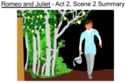 Romeo and Juliet Act 2, Scene 2