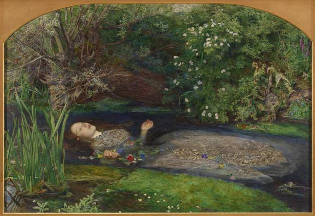 Sir John Everett Millais, Bt 'Ophelia', 1851–2
